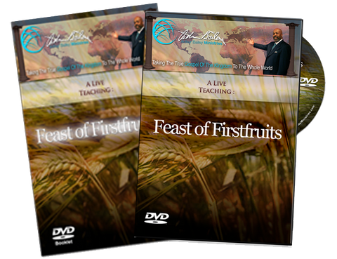 Feast Of Firstfruits DVD/Book Combo