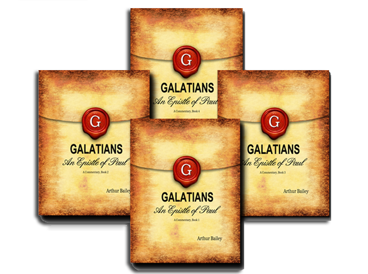 Galatians Commentary Complete 4 Volume Set