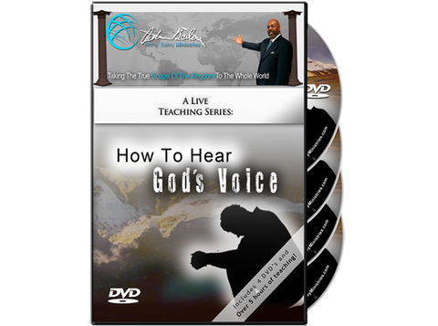 How to Hear God's Voice (4 DVDs)