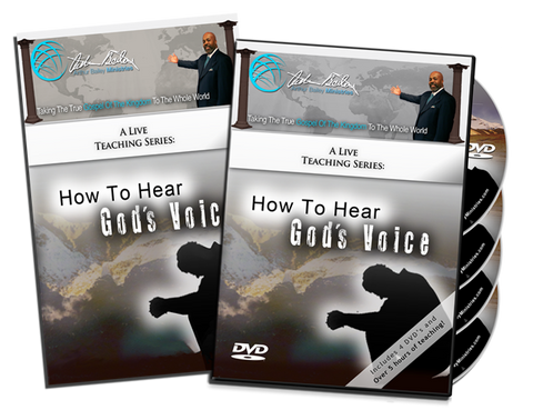How To Hear God's Voice DVD/Book Combo