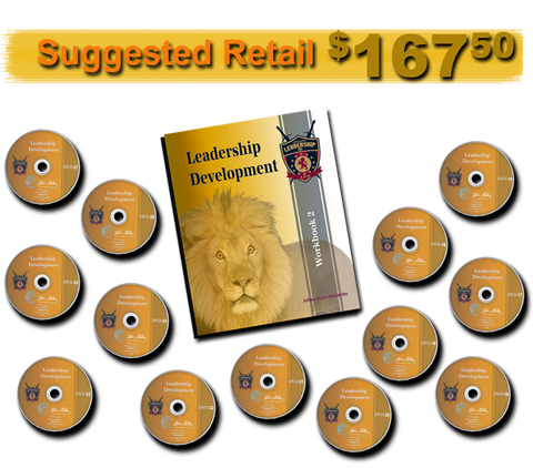 LEADERSHIP BUNDLE WORKBOOK 2 AND 13 DVDS