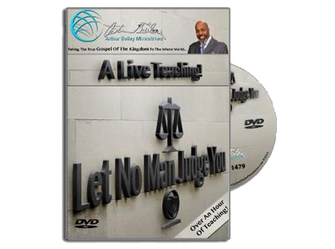 Let No Man Judge You (DVD)