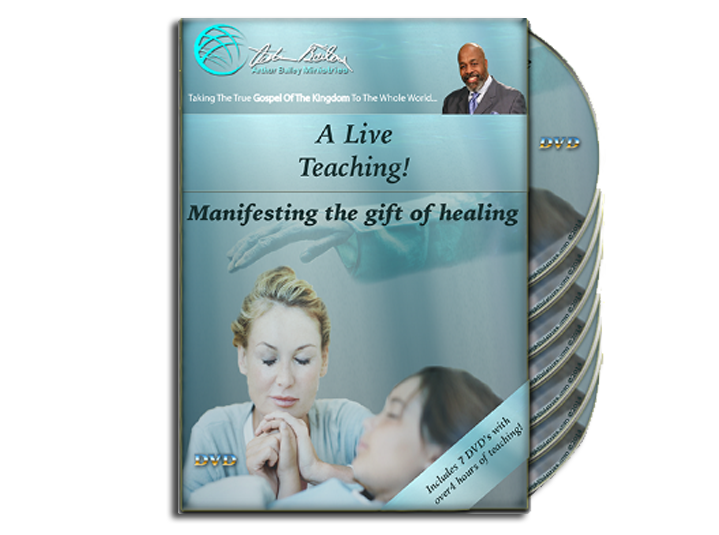Manifesting the Gift of Healing 7 DVD's