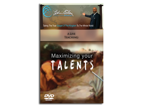 MAXIMIZING YOUR TALENTS (BOOK)