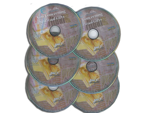 Now Concerning Spiritual Gifts – 6 DVDs