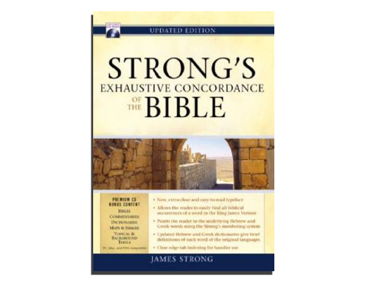 Strongs Exhaustive Concordance Of The Bible (BOOK)