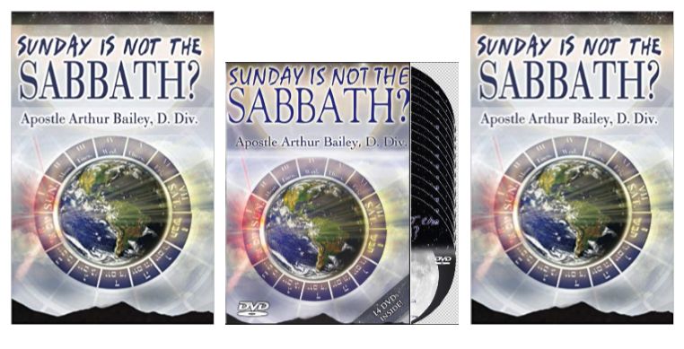 Sunday Is Not The Sabbath Combo Study Pack