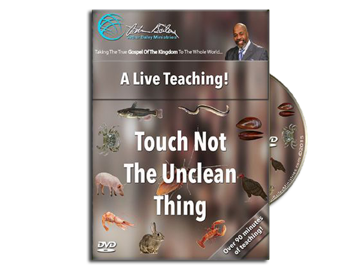 Touch Not The Unclean Thing (DVD)