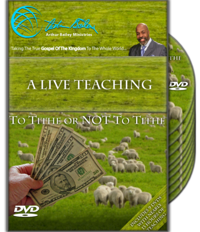 To Tithe or Not to tithe (9 DVDs)