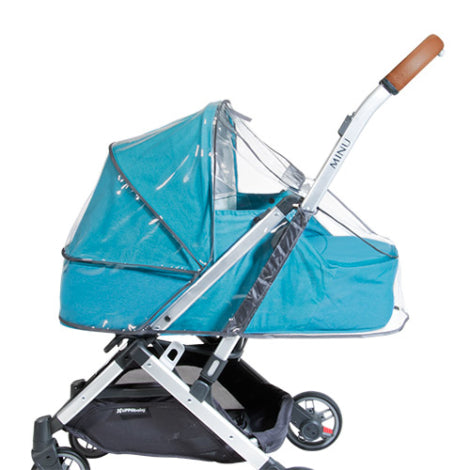 Silla de paseo Bugaboo Bee5 Mineral Collection / Gris Claro