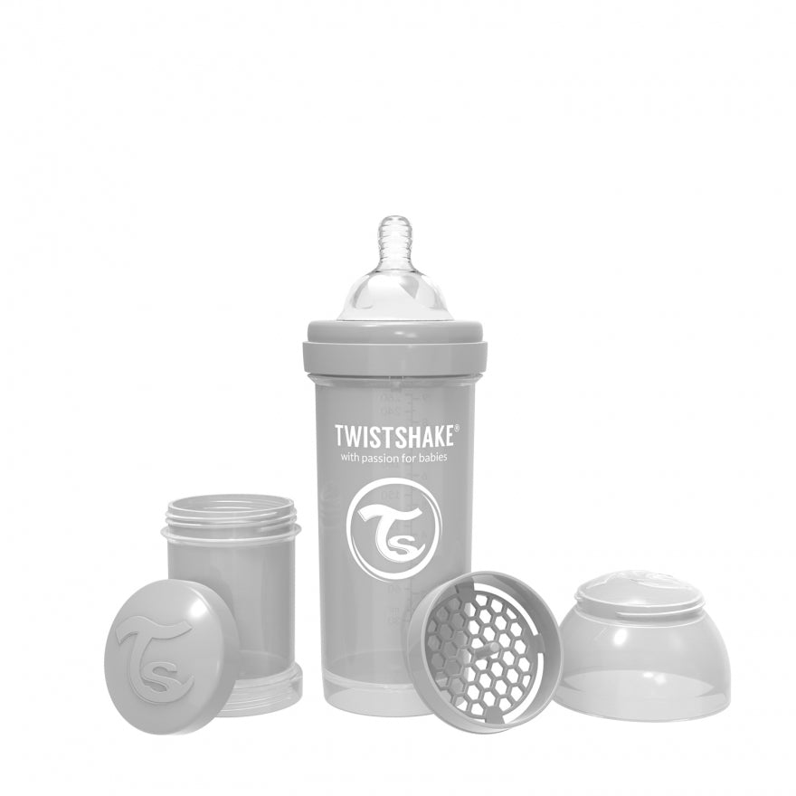 Biberon anticólicos Twistshake de 260ml