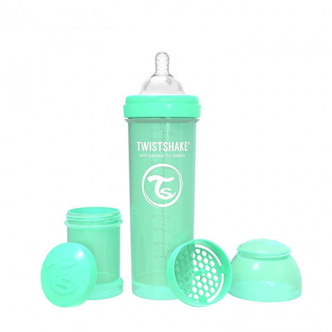 Biberón anticólicos Twistshake de 180ml