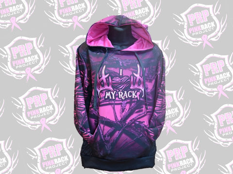 Backwoods Diva Custom I Love My Rack Hoodie