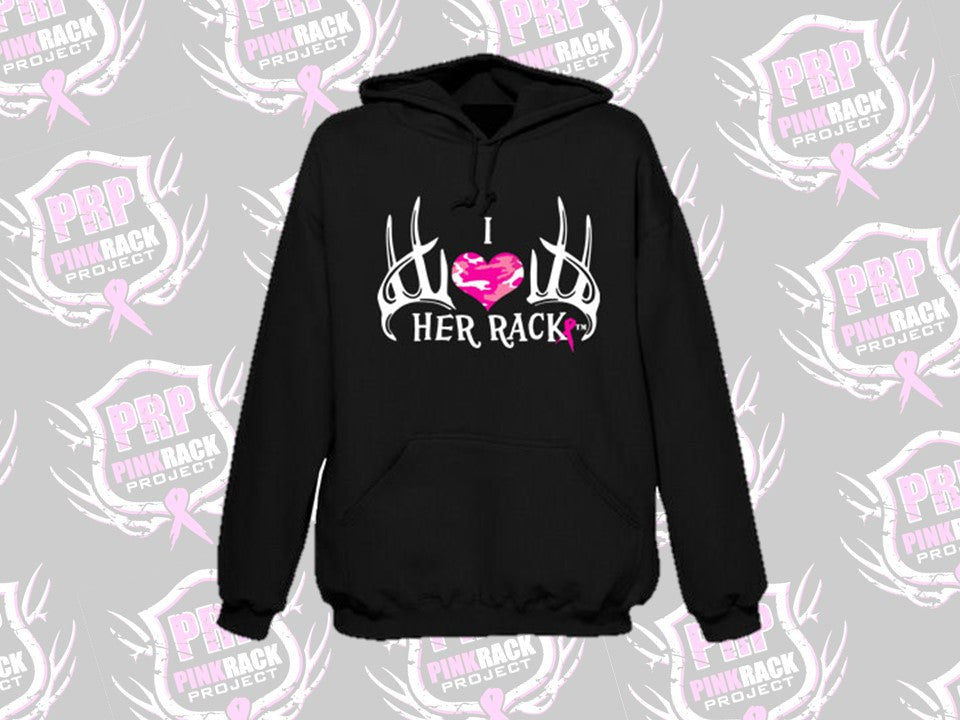 I Love Her Rack Hoodie - Pink Rack Project
