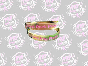 I Love My Rack Bracelet with Pink Rack Project - Pink Rack Project