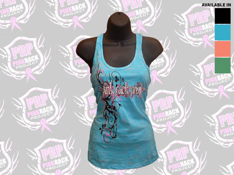 Twisted Antler Burnout Tank Top
