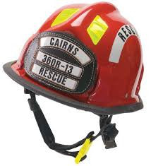 Cairns Rescue 360R Helmet with 4 inch Tuffshield
