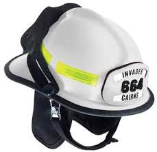 Cairns Invader 664 Helmet with 4 Inch Tuffshield