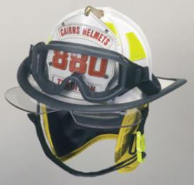 Cairns 880 Traditional Helmet with Bourkes and ESS Goggles