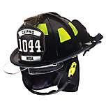 Cairns 1044 Defender Helmet with Bourkes