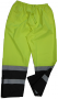 Class E, Draw String Pants-Lime/Black