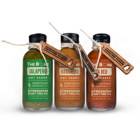 Heritage Series Hot Sauce Trio