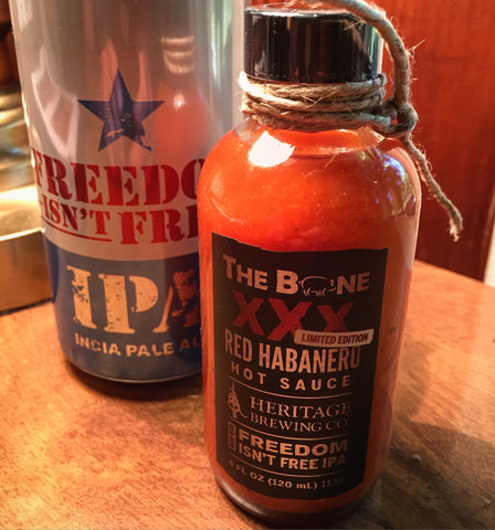 XXX Red Habanero Hot Sauce (LIMITED RELEASE)