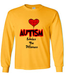 Autism Embrace The Difference T Shirt