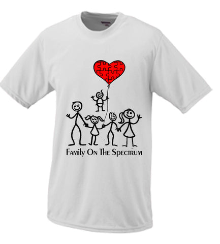 Family On The Spectrum Autism #2 T shirt