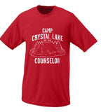 Camp Crystal Lake T Shirt Friday The 13th Jason Voorhees Parody