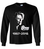 David Bowie RIP #1 Tribute Tshirt