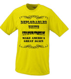 Deplorables Unite, Make America Great Again Hillary Clinton Donald Trump Shirt Basket Of Deplorables Election 2016