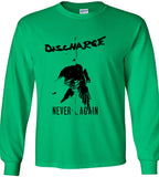 "Discharge ""Never Again"""