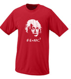 Albert Einstein Hashtag #E=MC2 T shirt
