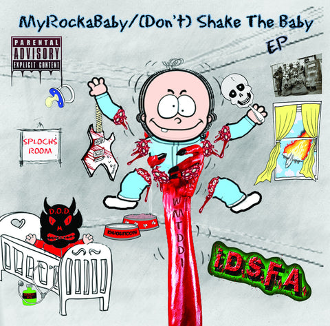 I.D.S.F.A. (Don't) Shake The Baby EP Hard Copy