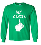 Hey Cancer (Middle Finger) F**k You T Shirt
