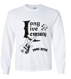 Long Live Lemmy Kilmister Tribute T shirt (Motorhead)