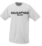 Malcolm Young ACDC Tribute Memorial Tshirt #2