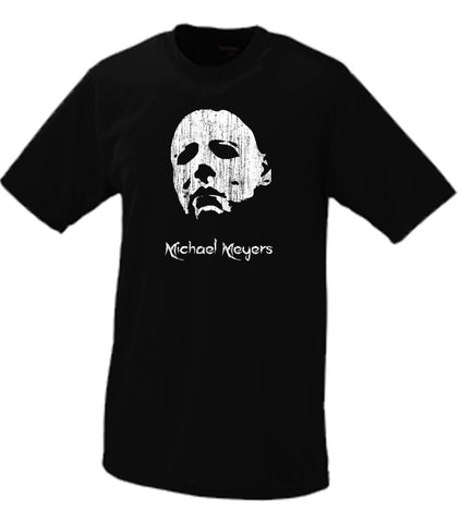 Michael Meyers Portrait T Shirt Halloween Haddonfield