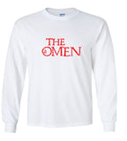 The Omen Movie Title T Shirt Damien Thorn 666 Antichrist