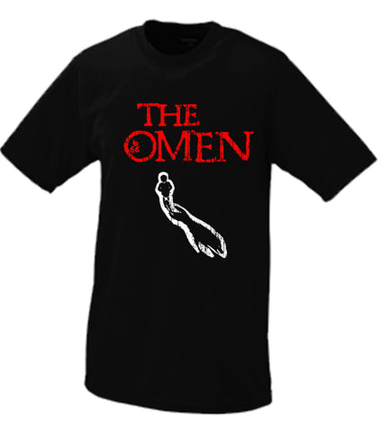 The Omen Movie T Shirt Damien Thorn 666 Antichrist