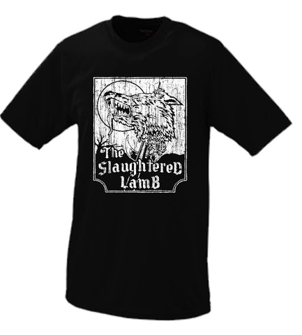 The Slaughtered Lamb T Shirt American Werewolf In London Parody