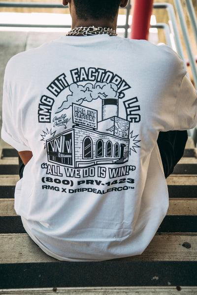 Hit Factory Champion Tee (RMG x Drip Dealer)