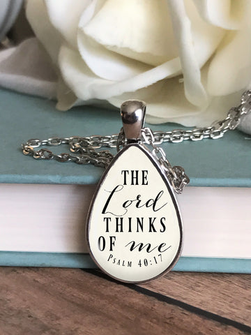 The Lord thinks of me Necklace
