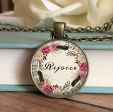 Rejoice Floral Necklace