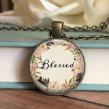 Blessed Floral Necklace