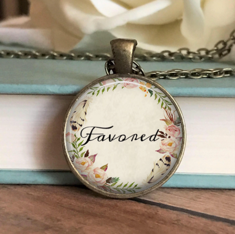 Favored Floral Necklace