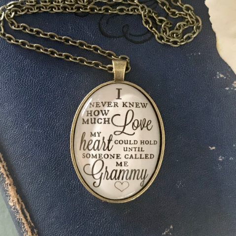 Grammy Love Necklace