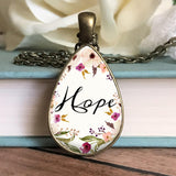 Hope Floral Necklace