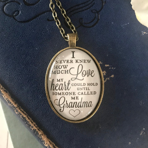 Grandma Love Necklace